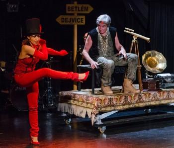 Opera Betlém (Opera Bethlehem), role devil Luciferda, Theatre Semafor, photo Petr Sankot