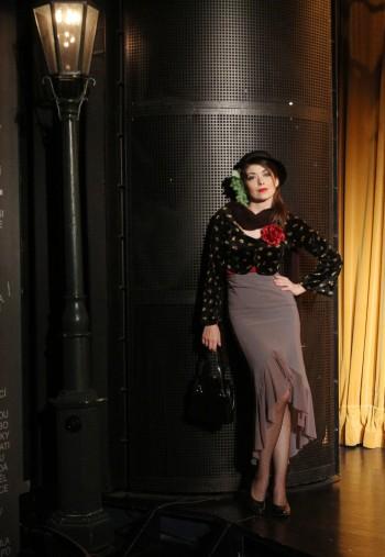 Slečinky a lupiči (Missis and robbers), role Anča Cihla, Theatre Semafor, photo Dušan Dostál